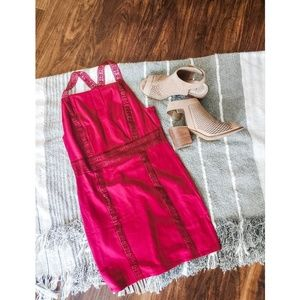 Intimately Free People Red Dress